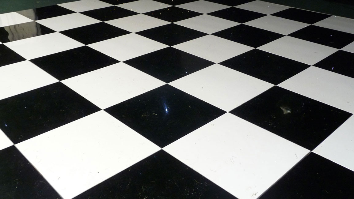 Black & White Flooring
